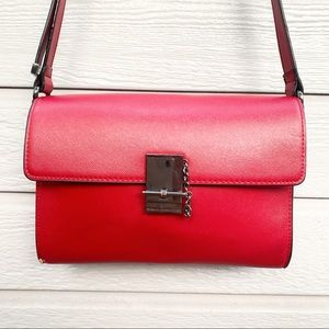 French Connection | Red Faux Leather Purse